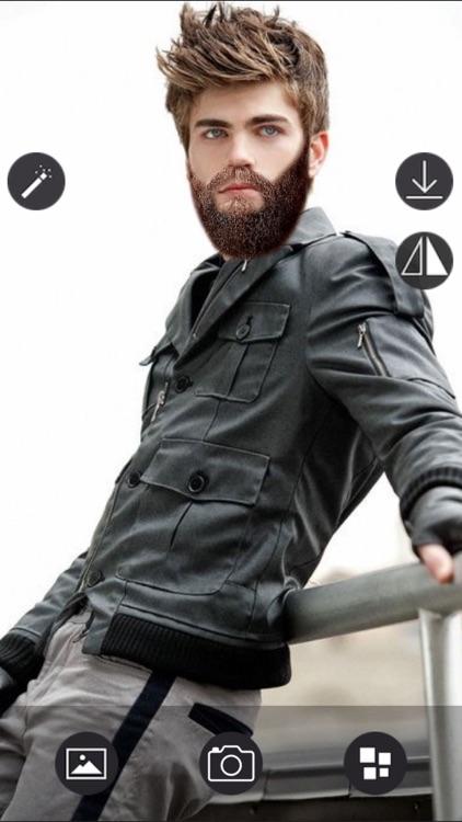 Beard Photo editor - Live Camera screenshot-3