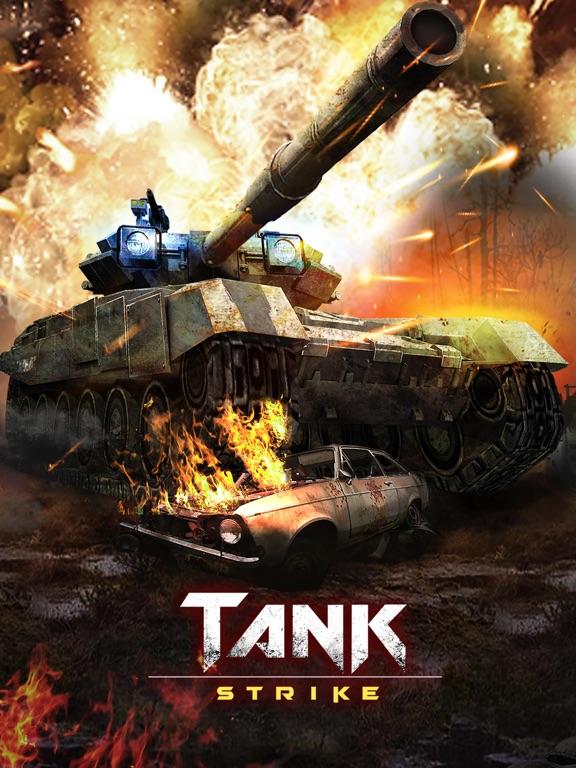 Tank Strike - online shooting battle action game на iPad