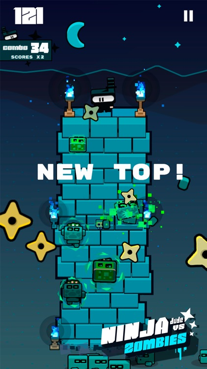 Ninja Dude vs Zombies - endless tap 'n' slash zombie arcade game screenshot-0