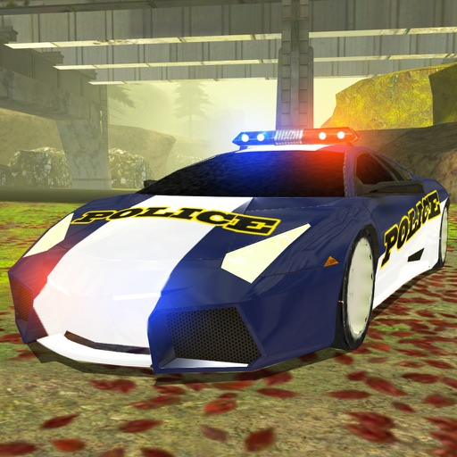 3D Off-Road Police Car Racing  - eXtreme Dirt Road Wanted Pursuit Game FREE icon