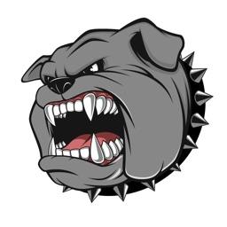 Bulldog Stickers