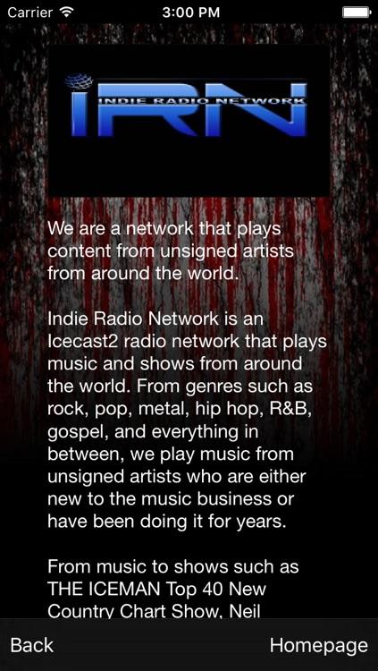 Indie Radio Network screenshot-3