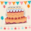 誕生日 ・ グリーティングカード ・お誕生日おめでとうございます-Mario Guenther-Bruns