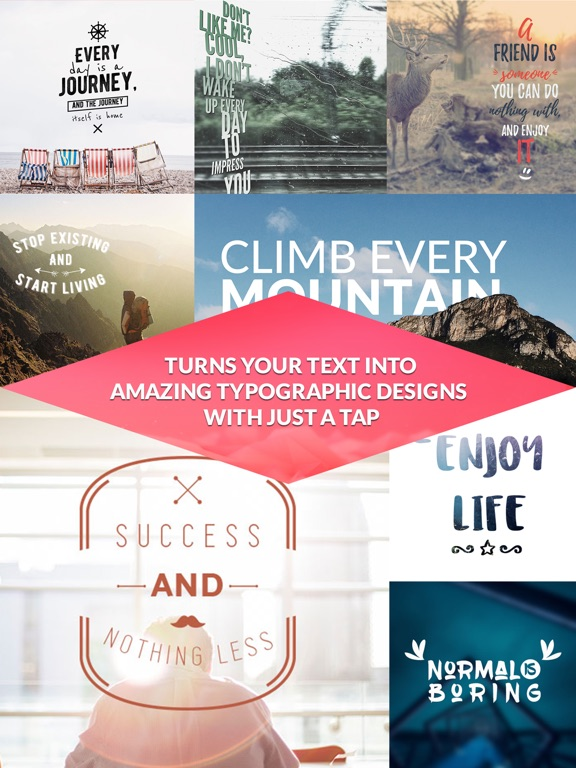 Text60Pic Add Text To Photos Poster Maker Logo Creator Caption Magnificent Instagram Quote Maker