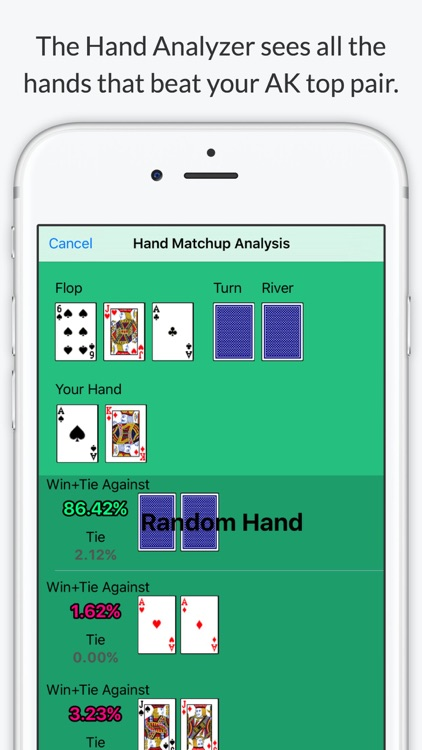 Texas Holdem Poker Odds Calculator - Calculate chances to win screenshot-2