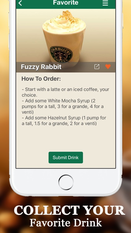 Secret Menu for Starbucks - Coffee, Tea, Cold & Hot Drinks Recipes card Prices and Locations screenshot-4