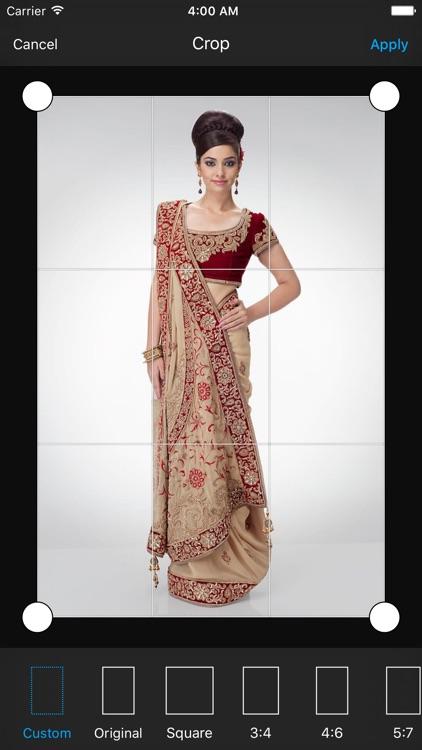 Indian Saree Photo Suit & Editor screenshot-3