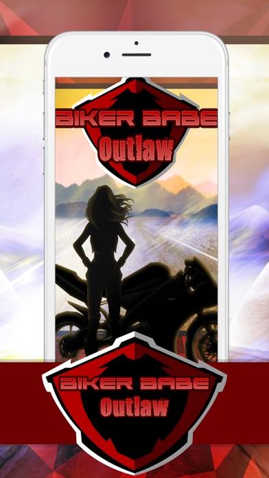 Biker Babe Outlaw screenshot one