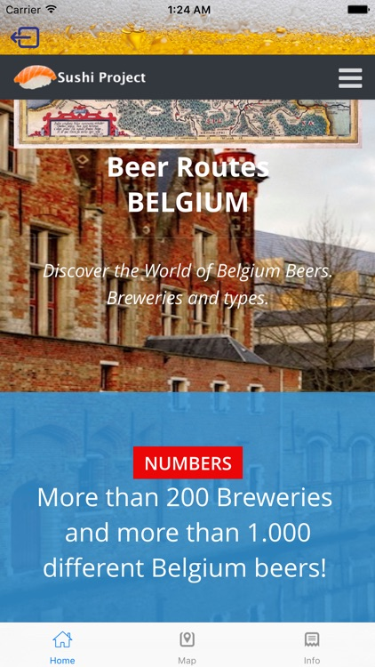 Beer Routes Belgium screenshot-2