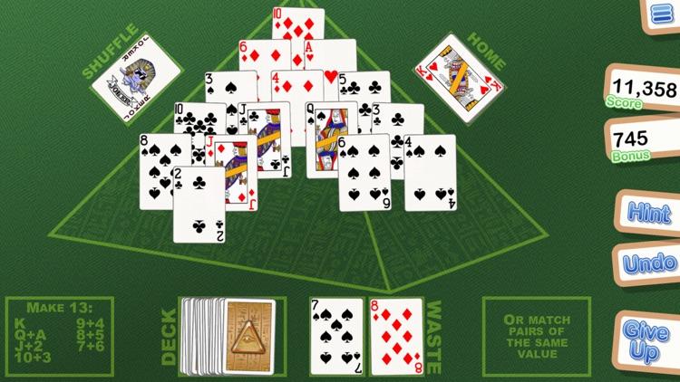 Crystal Pyramid Solitaire screenshot-3