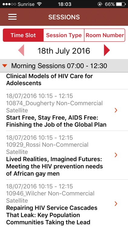 AIDS 2016 screenshot-1