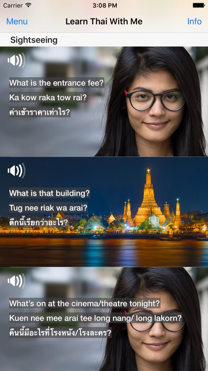 Learn Thai With Me - 101 Survival Phrases screenshot-3
