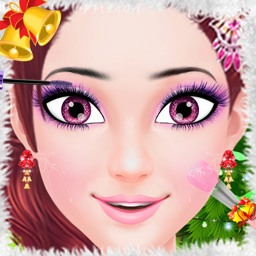 Makeup Salon : Christmas Princess Party Makeover - Girls Beauty Spa, Make-up and Dress-up Game by Phoenix Games
