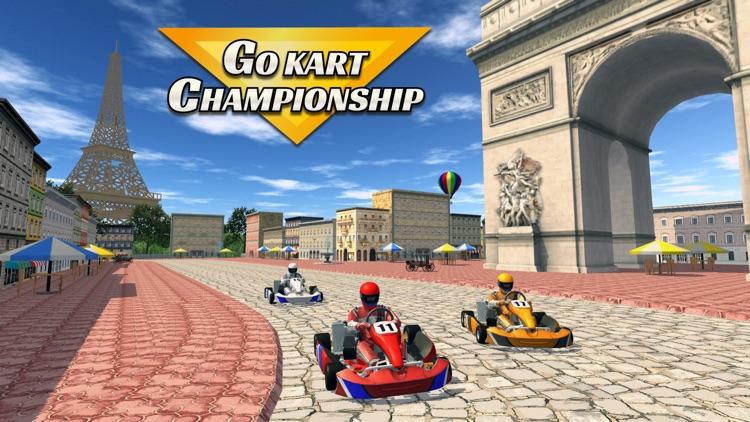 GO KART CHAMPIONSHIP 3D RACING