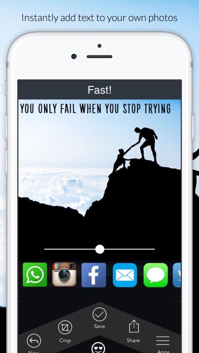 Fast - text on photos screenshot four