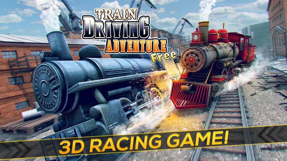 Train Driving Adventure | The 3D Rail Race Train Game for Free Cheat Codes