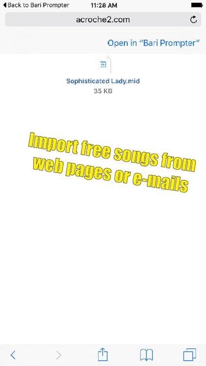 Baritone Sax Prompter screenshot-3