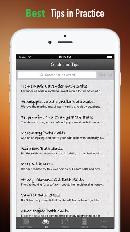 DIY Bath Salt:Recipes,Tips and Tutorial screenshot-3