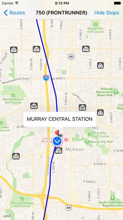 Utah Transit Tracker (Bus & Rail)