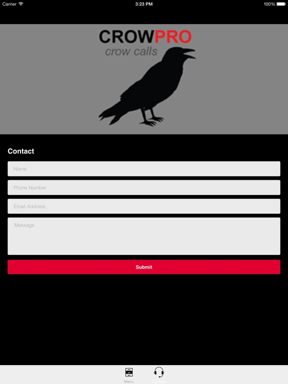 Crow Calls  & Crow Sounds for Hunting - BLUETOOTH COMPATIBLE