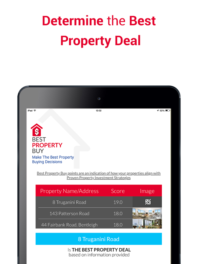 ‎Best Property Buy - Make The Best Property Buying Decisions Screenshot