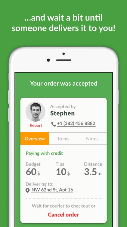 Buy For Me App - Delivery Food, Alcohol, Groceries screenshot-4