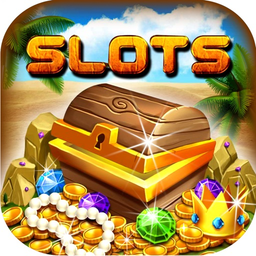 The New Desert Treasure Deluxe Slot - Win the Huge Jackpot! iOS App