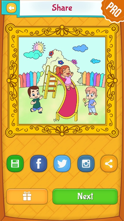 Spring Coloring Pages for Kids PRO - Flower & Butterfly Coloring Book screenshot-3