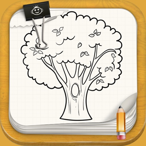 Learn to Draw Fruit Trees