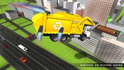 camión de la basura real de vuelo simulador 3D - La conducción de camiones de basura en laCaptura de pantalla de2
