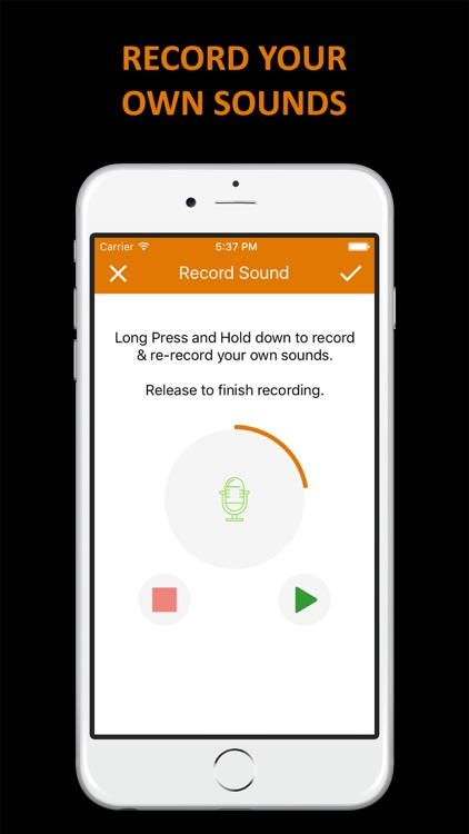 iButton Plus - New Era of Sounds and Record your own Sounds screenshot-3