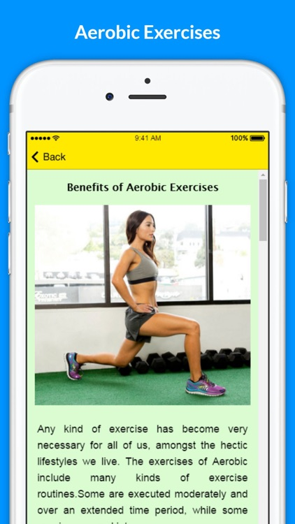 Aerobics - Training your body for a stronger Aerobic Fitness screenshot-3
