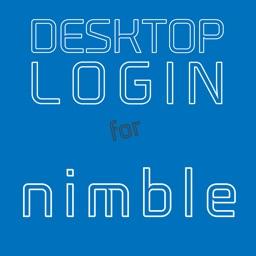 DESKTOP LOGIN for nimble