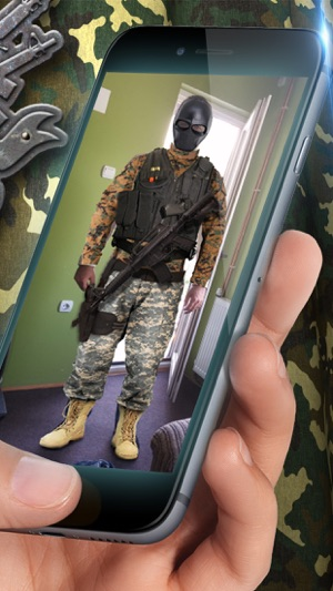 Military Suit Photo Montage – Army Uniform Picture Studio