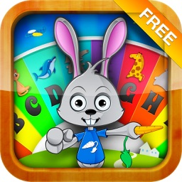 Children Wheel FREE: Learn, Play and Grow. Quiz with animals