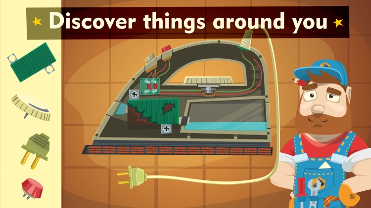 Tiny repair - fix home appliances and become a master of broken things in a cool game for kids screenshot-4