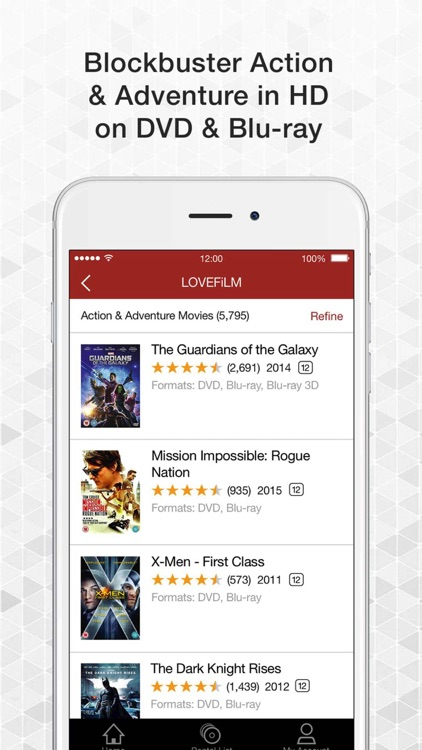 LOVEFiLM By Post UK for iPhone