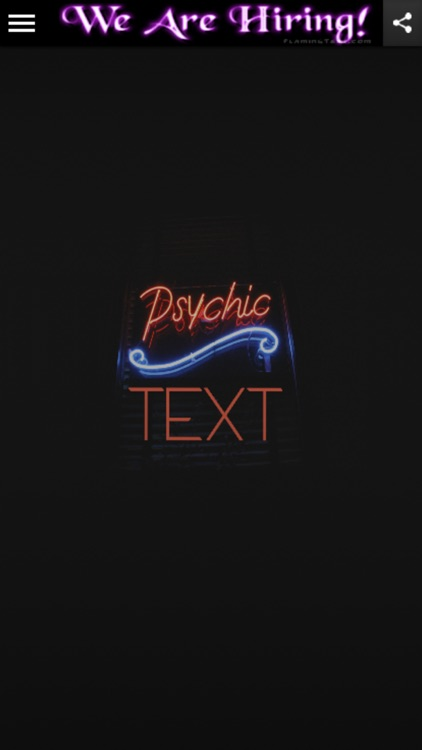 Psychic Text Readings