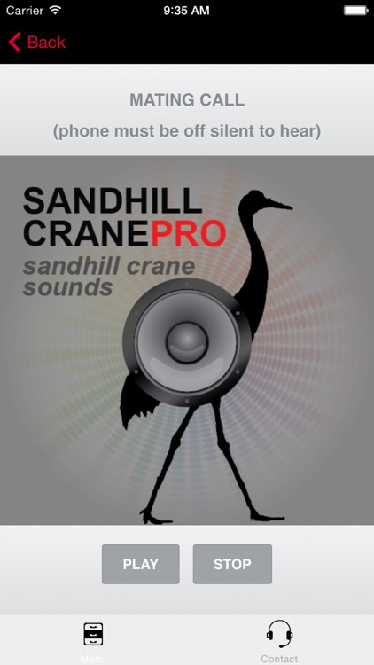 Sandhill Crane Hunting Calls - With Bluetooth - Ad Free