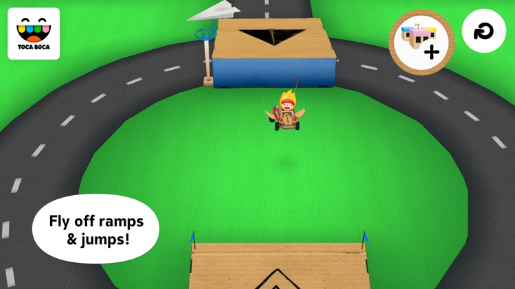 Toca Cars screenshot-1