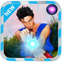 100 Super Saiyan Effets Speciaux Camera  : New Photo Montage With Own Photo Or Camera