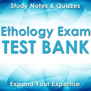 Ethology Exam Review :Practice Questions for the Written Animal Behavior Test ( 2100 Flashcards Q&A )