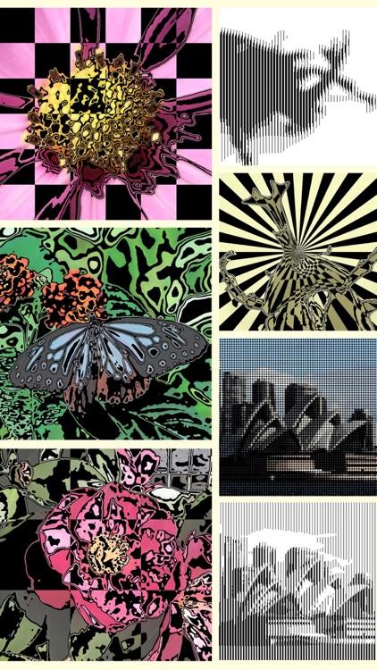 StripeImager - Stripe,Check,Zebra Pattern Art Generator screenshot-3