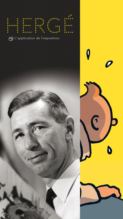 Hergé, l'Application officielle de l'exposition