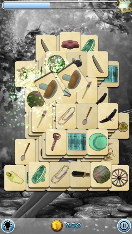 Hidden Mahjong: Elven Woods screenshot-3