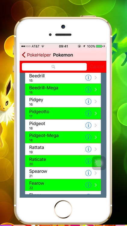 PokeHelp - PokeDex for Pokemon Game