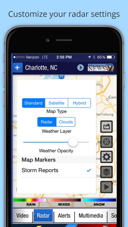 WSOC-TV Channel 9 Weather App screenshot-4