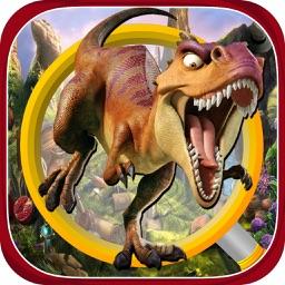 Hidden Objects Dinosaur Land