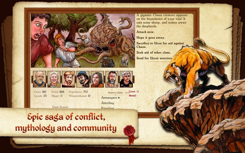 King of Dragon Pass screenshot 2
