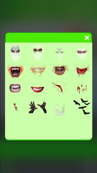 吸血鬼 写真 編集者 - 怖い 顔 チェンジャー 画像 モンタージュ とともに ホラー ステッカー紹介画像3